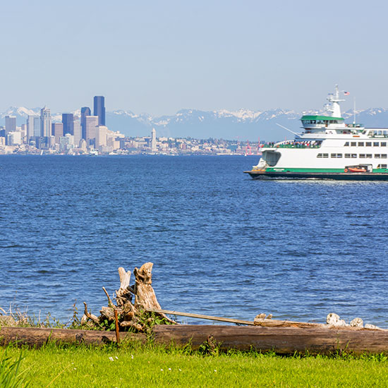 Photo of Bainbridge Island Ferry