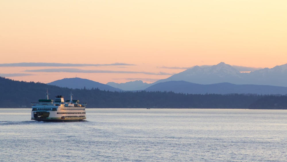 One of the top things to do on Bainbridge Island is the journey here itself, aboard the stunning Washington State Ferry